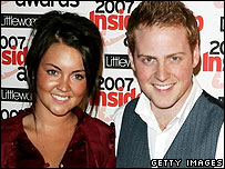 Lacey Turner and Charlie Clements play Stacey and Bradley