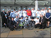 The Auld Alliance Charity Cycle Ride