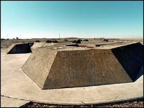 Missile silo at the base, near Moses Lake in Washington state (pic: themissilebase.com)
