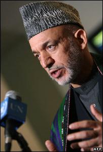 President Hamid Karzai