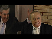 Gordon Brown and Andrew Neil