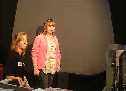 Weather presenter Gail McGrane (left)
