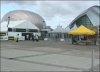 News & Sport On Tour at Pacific Quay