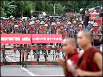 Burmese campaigners