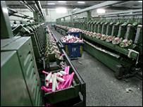 مصنع غزل ونسيج مصري خال بسبب إضراب