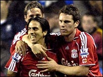 Benayoun put Liverpool in front
