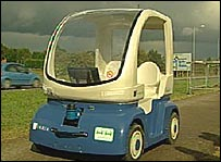 Daventry Cybercar (Technological Singularity)