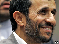 Mahmoud Ahmadinejad at the UN