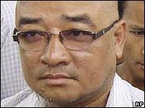 El comediante birmano Zaganar.