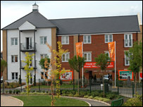 Barratt homes in Ipswich