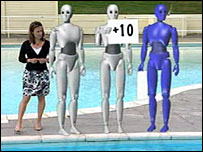 Jenny Scott and some robot judges