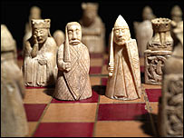 Lewis Chess Pieces (courtesy British Museum)