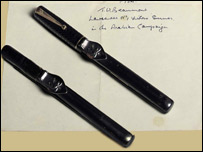 TE Lawrence's fountain pens