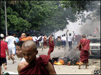 Protests in Burma