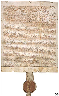 1297 copy of Magna Carta