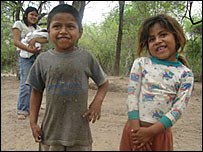 Two Toba children