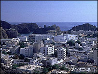 Muscat, the capital of Oman