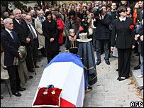 Marcel Marceau's funeral