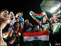 Celebrations as India win this year's Asia Cup in hockey