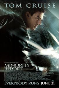 """Afiche de """"Minority Report"""""""