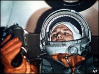 Юрий Гагарин 12 апреля 1961 года