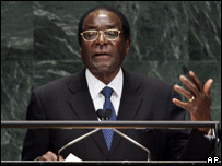 Robert Mugabe at the United Nations General Assembly