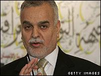 Iraqi vice-president and Sunni leader Tariq al-Hashemi