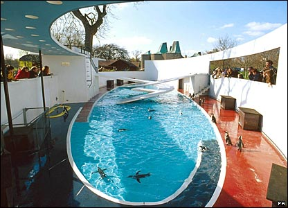 The Penguin Pool at London Zoo, featured on the Images of England website. Picture from Images of England/PA
