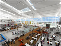 Heathrow terminal 5 (pic: BAA)