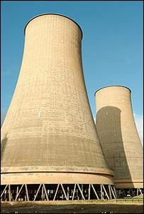 Calder Hall cooling towers