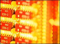 Computer microchip - file photo