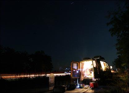 Roadside camping in Bulgaria