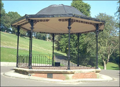 Bandstand in Sunderland. Picture from Images of England