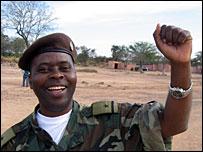 Major Dr Andre Chimuco (still from Condom Commando, courtesy ACORD)