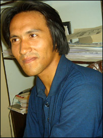 Afghan archaeologist, Reza Hosseini