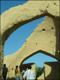 Khanaqa - a kind of madrassa or religious school - where Rumi studied