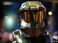 Man dressed as Master Chief, PA