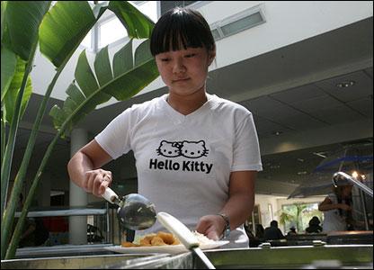 Chinese Jewish girl (photo and copyright: Noam Sharon atp)