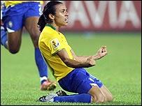 Brazil striker Marta