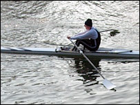 Thames rower