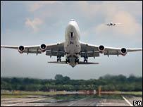 Aeroplane. Image: PA