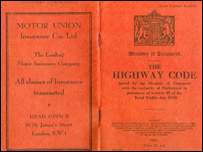 Highway Code 1931 (Pic: Hughes Walker Solicitors)