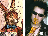March Hare and Sid Vicious