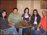 Iraqi medical students in Amman