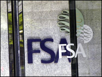 Glass door showing the FSA logo