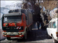 The Salang Tunnel in Afghanistan