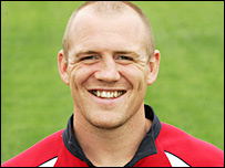 Gloucester and England centre Mike Tindall
