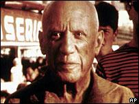 Pablo Picasso in 1961