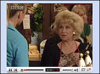 Eastenders on streaming media