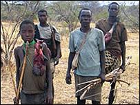 Tribu de los Hadza, Tanzania